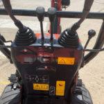 Close Up of the Controls of the New Kubota K008-3 Micro Excavator