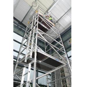 10.7m Platform height