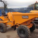Thwaites 3.0 tonne Four Wheel Drive Swivel Skip Dumper
