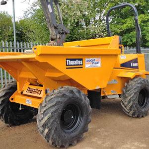 Thwaites 6.0 tonne Four Wheel Drive Dumper