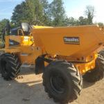 Thwaites 6.0 tonne Four Wheel Drive Swivel Skip Dumper