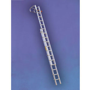 Alloy Double Extension Roof Ladder - 3.9m/6.6m