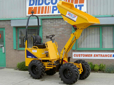 Thwaites 1 tonne Hi-Tip Skip Loader