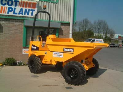 Thwaites 3.0 tonne Four Wheel Drive Dumper