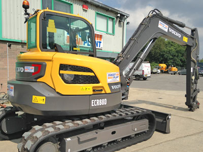 9.0 tonne Mini Excavator