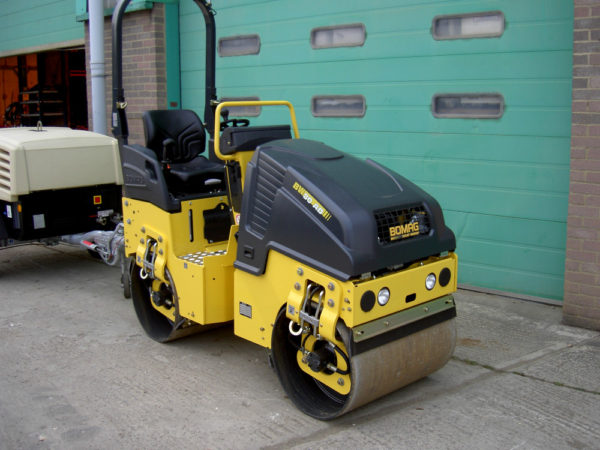 Bomag 80ADH Double Drum Ride On Roller