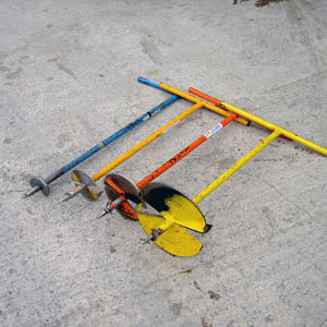 """Earth Auger manual 4"""", 6"""", 9"""" & 12"""""""