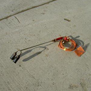 Flame Gun - Double Burner (LPG)