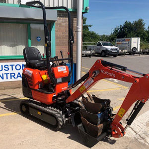 1.0 tonne Mini Excavator