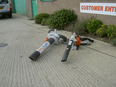 Leaf Blower/Vacuum (2 Stroke)