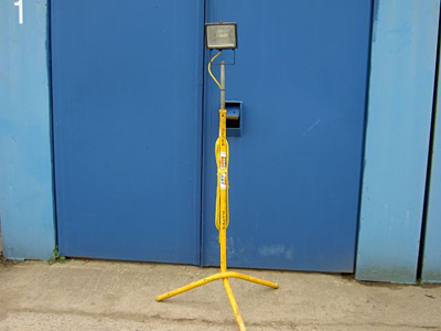 Single Head 500w 110v Floodlight with stand