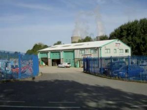 The Didcot Plant buildings and yard